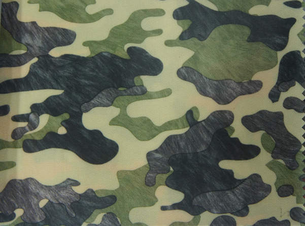 420d Camouflage Polyester Fabric with PU Coating