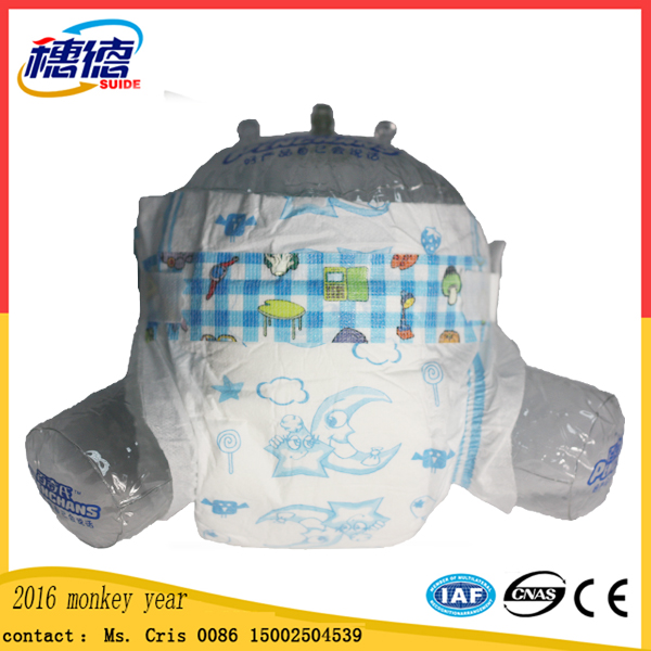 New Product Disposable Baby Diaper with Dry Durface in Guangzhou.