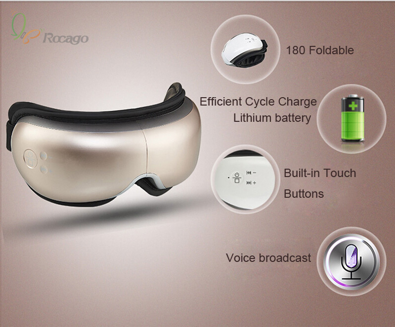Smart Foldable Wireless Eye Massager