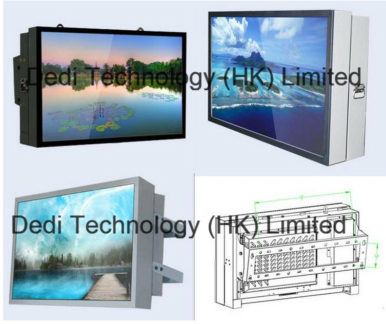 32/47/55/65 Inch Wall-Mounted Outdoor LCD Advertiser Machine