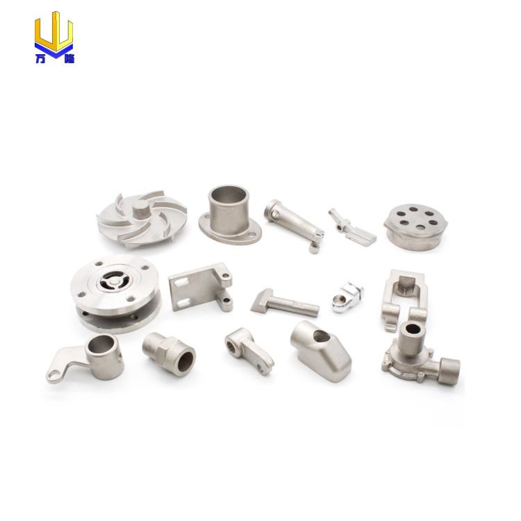 stainless steel mirror polish hinge bracket hardware nipple impeller