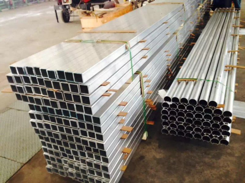 Customized Hollow Square Aluminium Tube