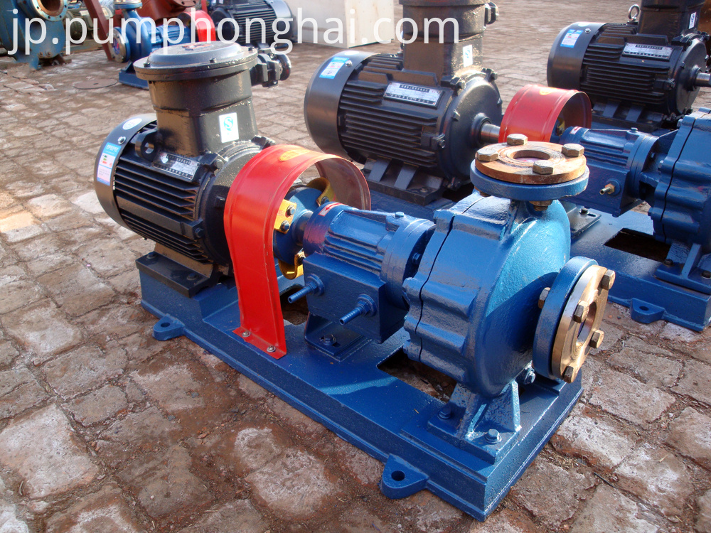 Cast steeel material pump with water-cooled equipment