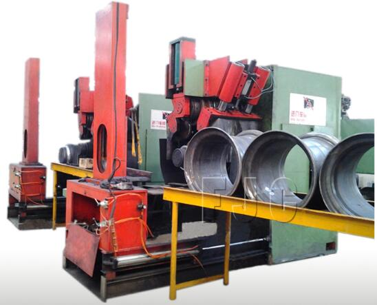 Hydraulic Wheel Roll Forming Machine for Diameter From 400 to 700