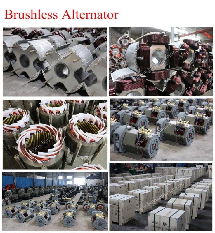 St Single Phase/Stc Three Phase Synchronous AC Alternator