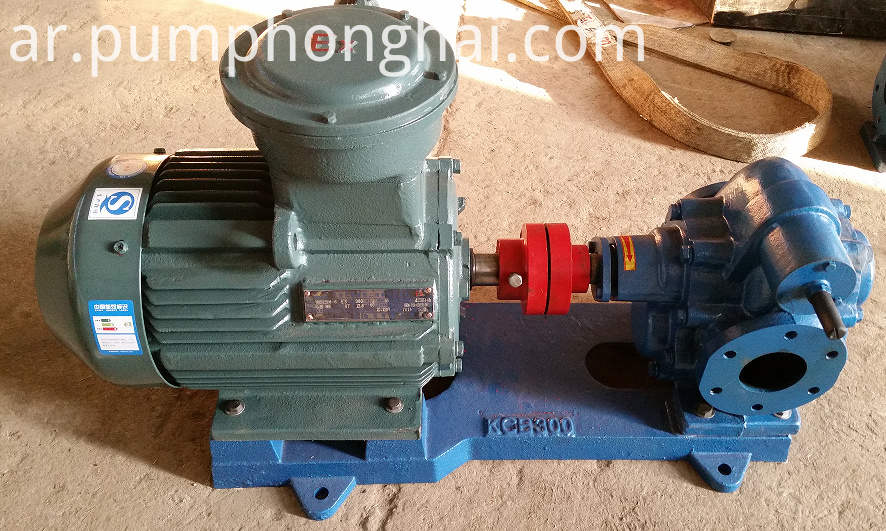 KCB135-KCB960 cast iron and stainless steel material gear pump