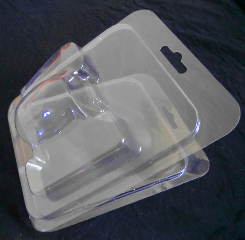 Customization Plastic PVC PET Blister Clamshell Shape Packing Boxes with printing