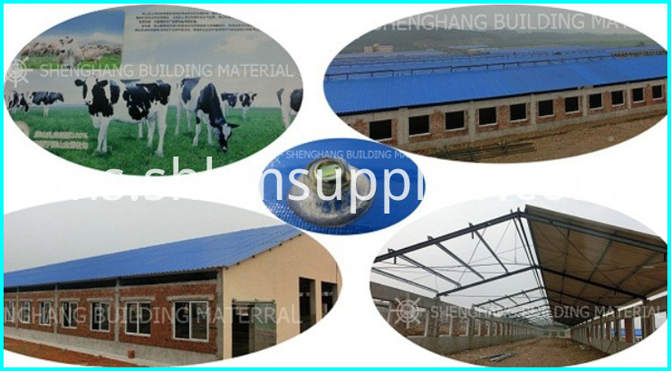 Anti-crossion MgO roof tiles
