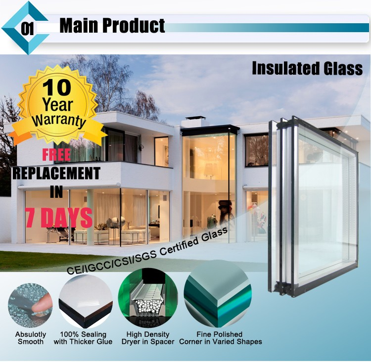 Tempered Insulated Architectural Facade Glass