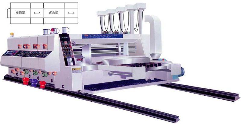 Gyk-C High Speed Automatic 3 Color Printing Slotting Machine