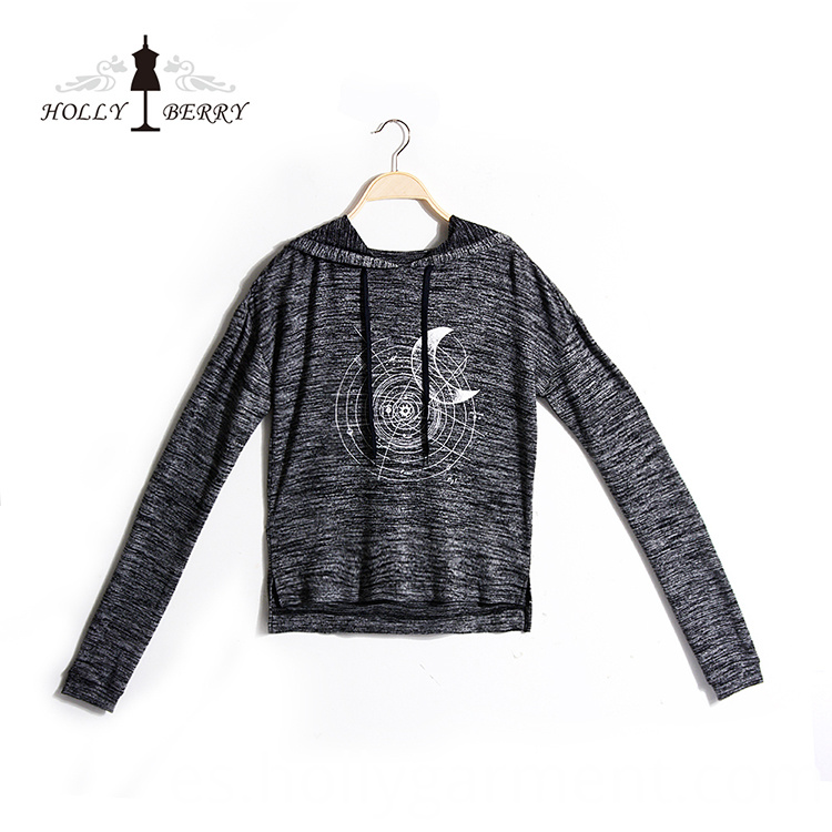 Gray Sweatshirt for Women
