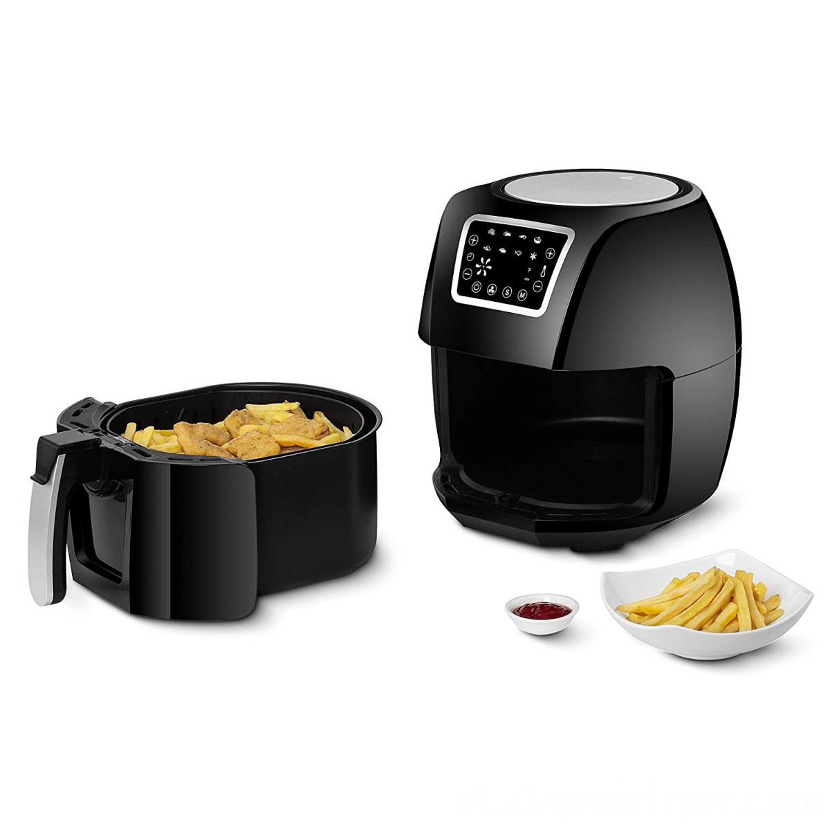 Free Oil Touch Screen Control Electric Air Fryer