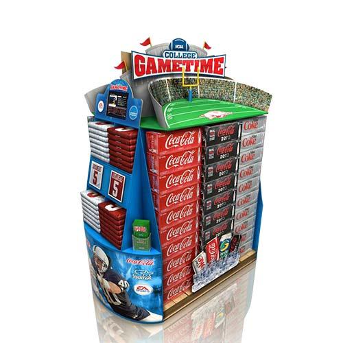 Pop Cardboard Display Stand, Store Display Shelf