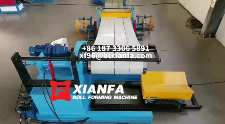 0.7mm x 1250mm slitting line for USA