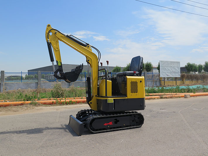 1000kg mini excavator with Yanmar engine operation video