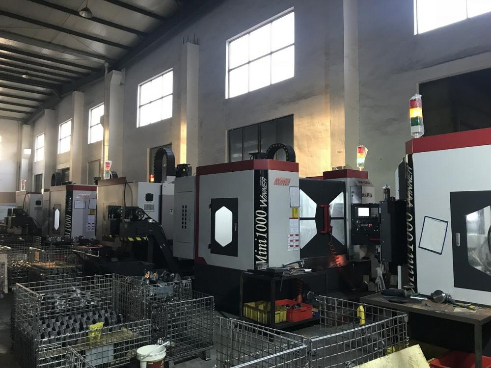 New CNC machining centers