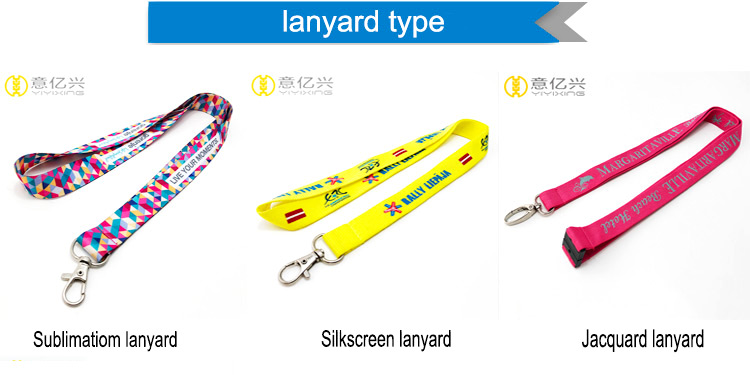Customized all kinds of lanyard