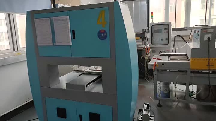 silicone machine in customer factory