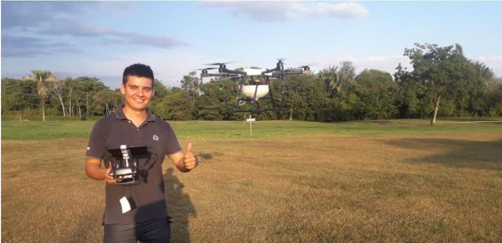 JMRRC Agriculture Drone in Brazil