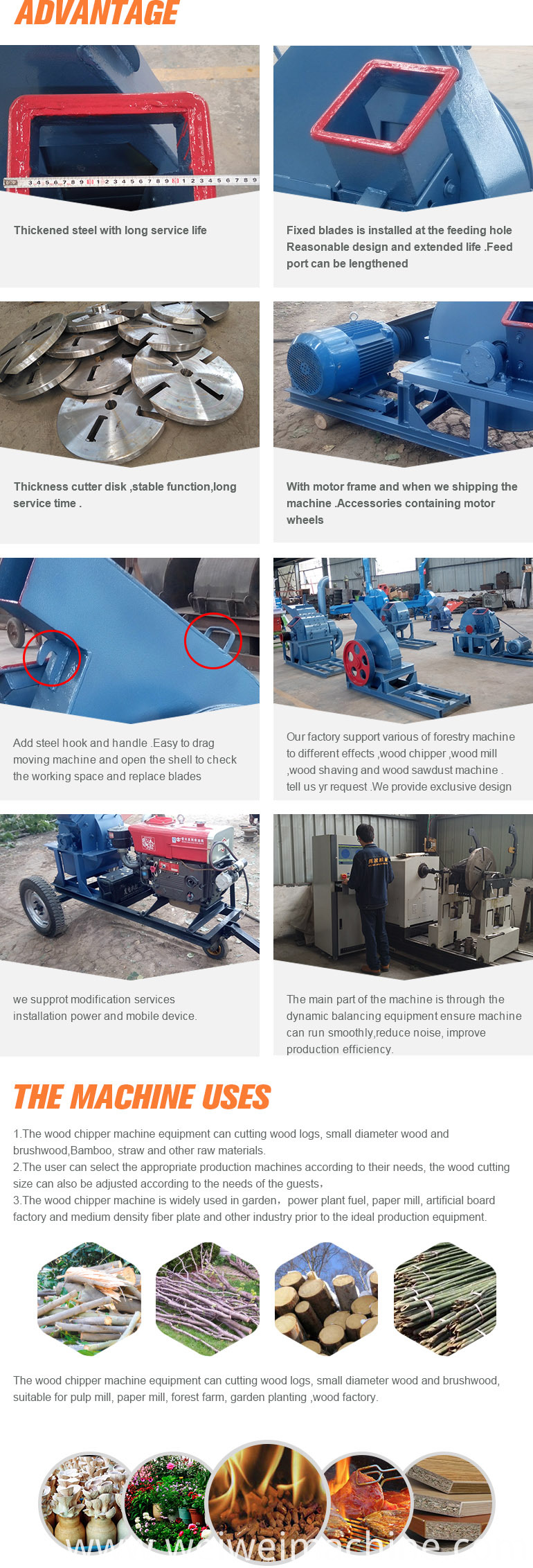 wholesale indonesia wood chipper for wood chips