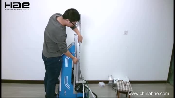 Wall printer installation