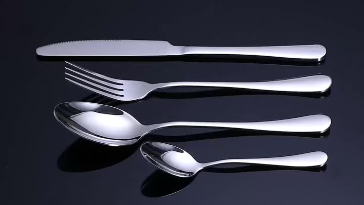 Mirror Polished Luxury Stainless Steel Cutlery Set