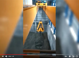 Cement Handling Grab Bucket Crane