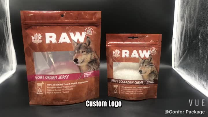 dog treat plastic bags