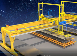 Fully Automatic Sheet Handling Crane