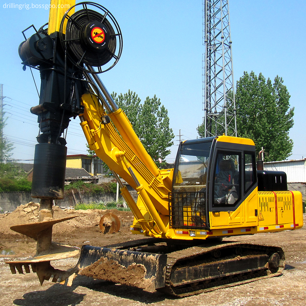 Small Hydraulic Rotary Digging