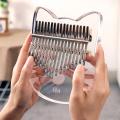 Kalimba 17 keys exclusive design crystal kalimba thumb pianos climba musical instrument finger piano teclado machine 21 30 keys
