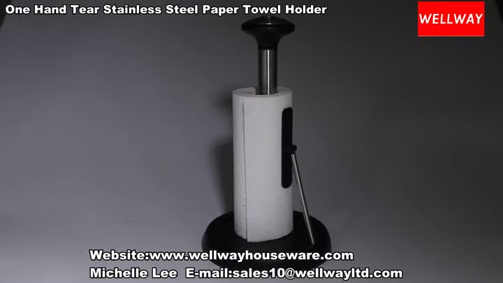 Wellway--Paper Towel Holder.mp4