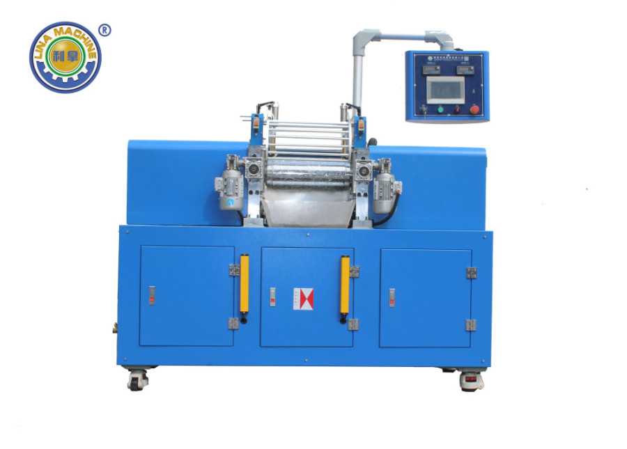 Two Roller Mixing Machine with Dust Colletor
