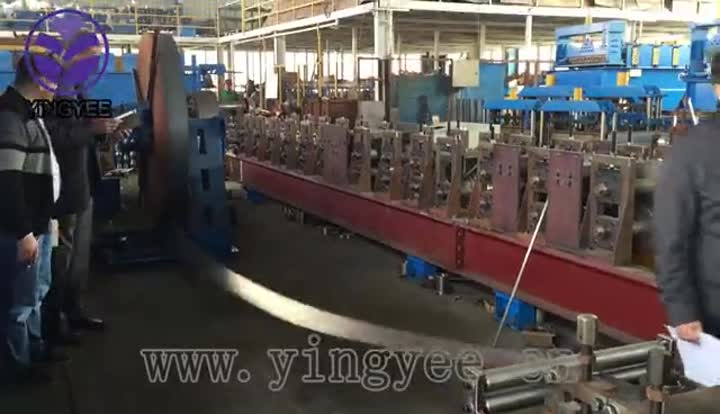 solar bracket forming machine.mp4