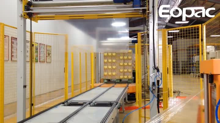 EAT300PPS-CCT Fully Automatic Pallet Wrapper.mp4