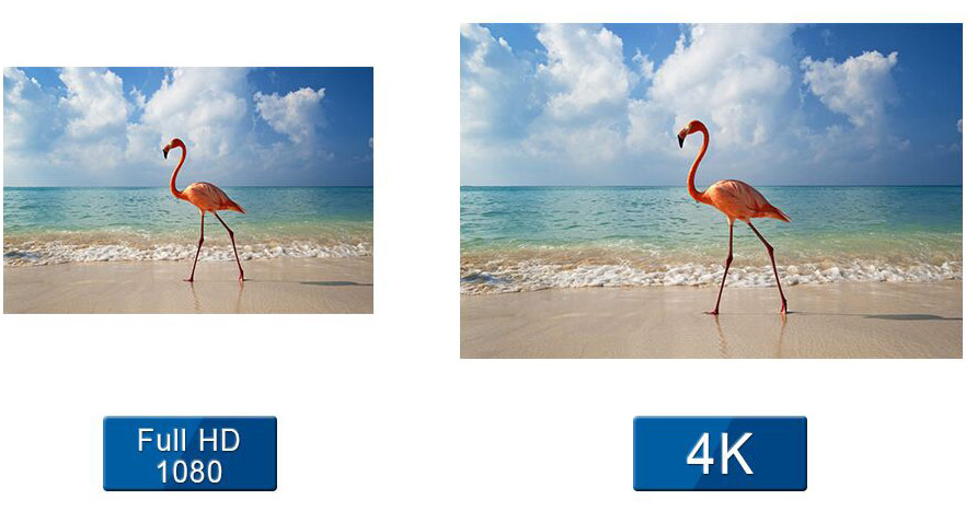 UHD led video display screen 4K