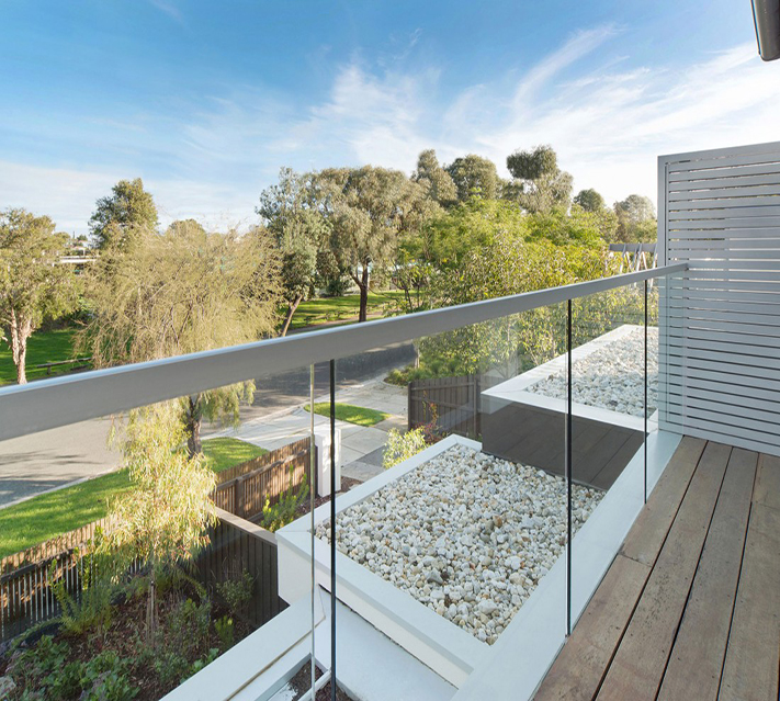 Laminated Balcony Glass