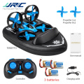 Upgraded H36 JJRC H36F Terzetto 1/20 2.4G 3 In 1 RC Vehicle Flying Drone Land Driving Boat Mini Drone Model Toys RTR VS E016F
