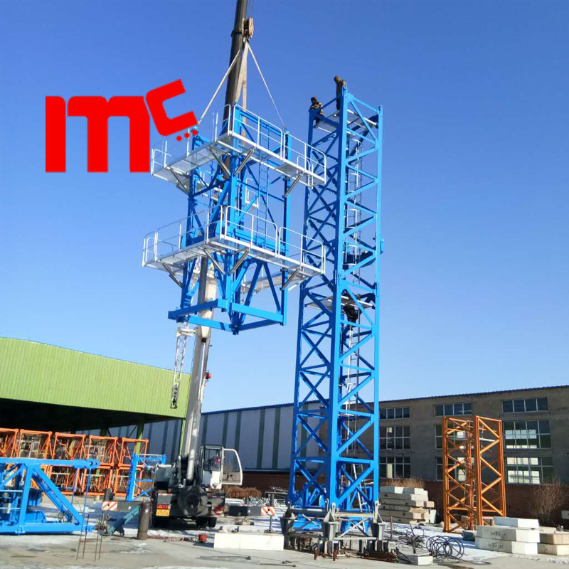 factory ground-18t flattop crane erection
