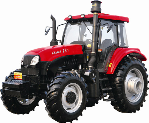 Oriental red tractor