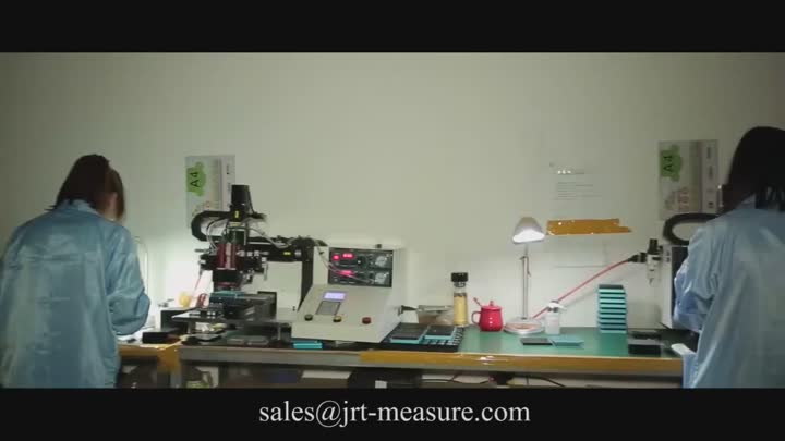 Production Line of Industrial Laser Distance Sensor - Chengdu JRT