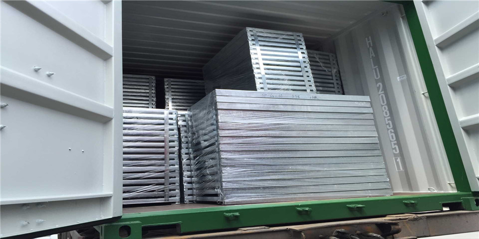 Heavy Load Steel Grating Packing