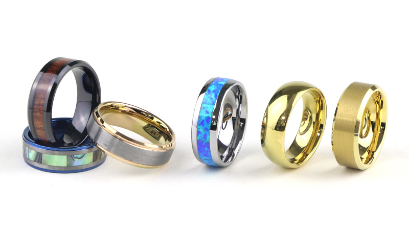Wholesale Tungsten Rings Wedding Bands China