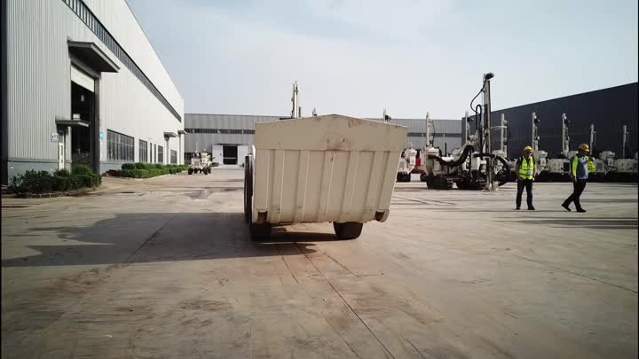 Underground Loading Hualing and Dumping Machine UL50