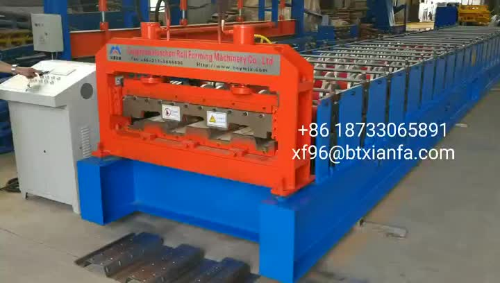 Floor Deck Forming Machine for the Philippines