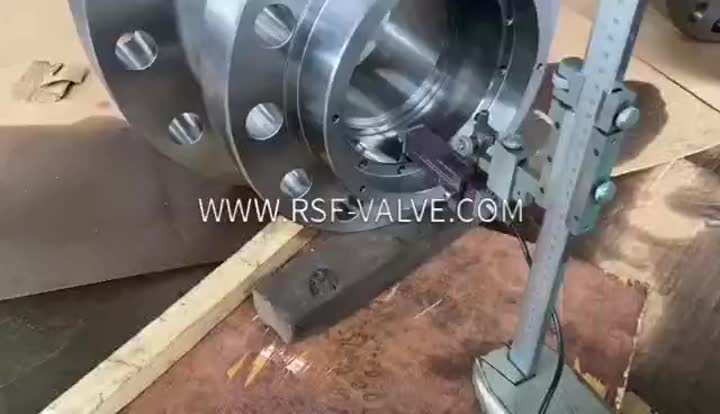 RSF VALVE-Roughness Test-Valve Parts-Ball Valve Closure.mp4