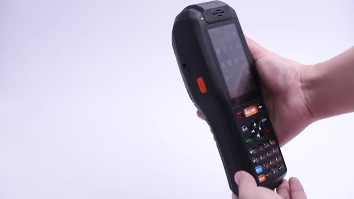 PDA-3505 series handheld barcode scanner PDA with printer