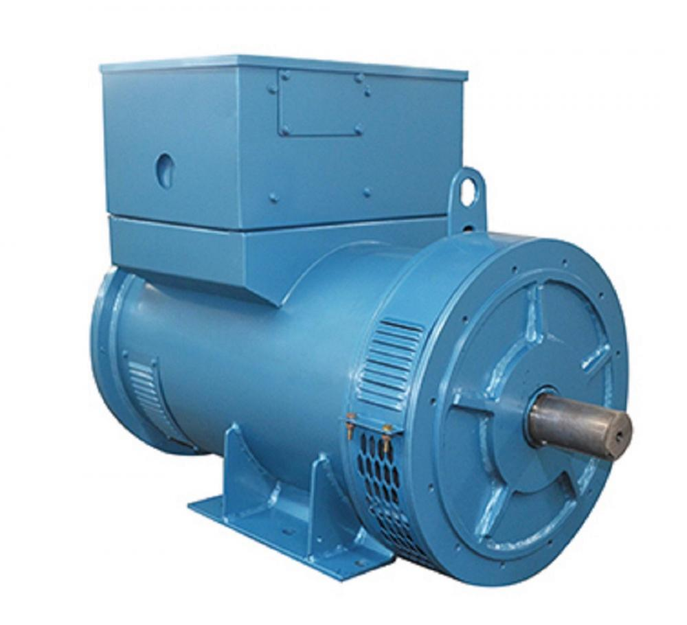 Blue Synchronous Marine Alternator