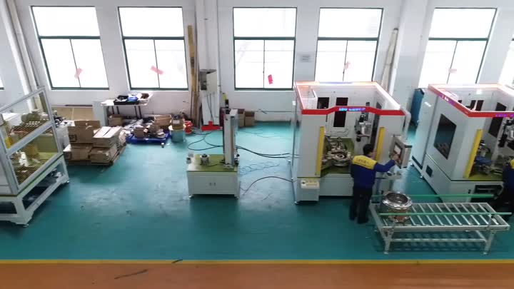 Drum Metal Forming Semi Automatic Line.mp4