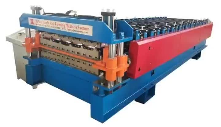 Corrugated Tile Forming Machine for Malawi